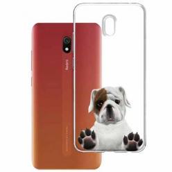 Etui na Xiaomi Redmi 8A - Słodki szczeniaczek.