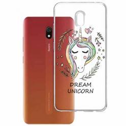 Etui na Xiaomi Redmi 8A - Dream unicorn - Jednorożec.