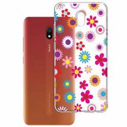 Etui na Xiaomi Redmi 8A - Kolorowe stokrotki.