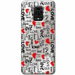 Etui na Xiaomi Redmi Note 9 Pro - Love, love, love…