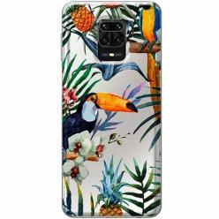 Etui na Xiaomi Redmi Note 9s - Egzotyczne tukany.
