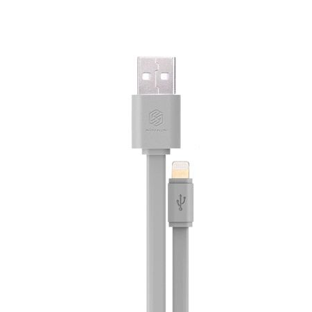 iPhone 5, 6 kabel NILLKIN  lightning szary
