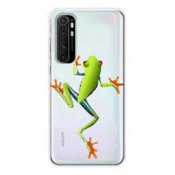 Etui na Xiaomi Mi Note 10 Lite - Zielona żabka.