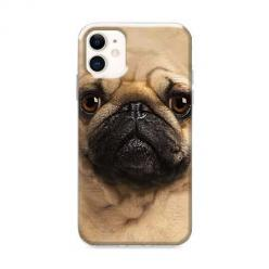 Etui na iPhone 12 Mini - Pies Szczeniak face 3d
