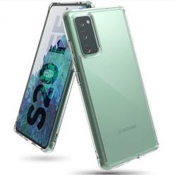 Etui na Samsung Galaxy S20 FE silikonowe crystal case - bezbarwne.