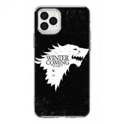 Etui na iPhone 12 Pro Max - Winter is coming White