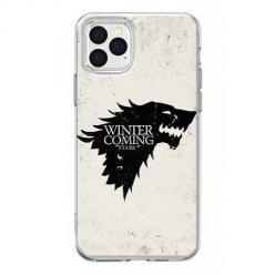 Etui na iPhone 12 Pro Max - Winter is coming Black