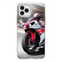 Etui na iPhone 12 Pro Max - Motocykl ścigacz