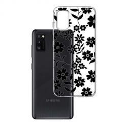 Etui na Samsung Galaxy A41 - Polne stokrotki nocą.