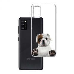 Etui na Samsung Galaxy A41 - Słodki szczeniaczek.