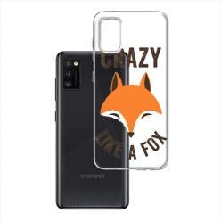 Etui na Samsung Galaxy A41 - Crazy like a fox.