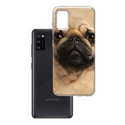 Etui na Samsung Galaxy A41 - Pies Szczeniak face 3d