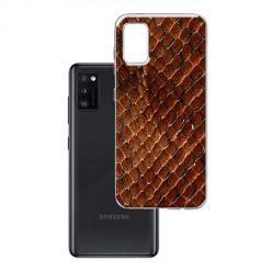 Etui na Samsung Galaxy A41 - Skóra węża