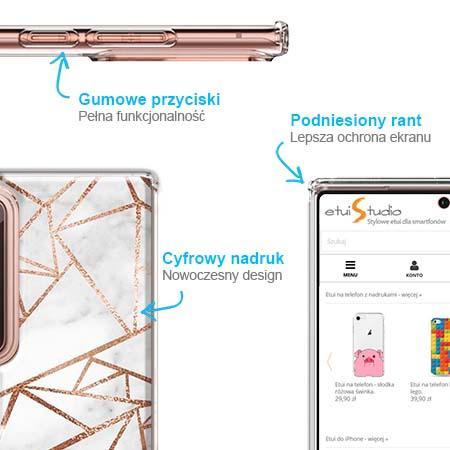 Etui na telefon Slim Case - Damaszkowa mozaika