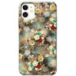 Etui na telefon Slim Case - Bukiet kolorowych róż
