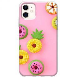Etui na telefon Slim Case - Kolorowe pączki owocowe