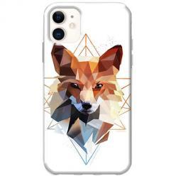 Etui na telefon Slim Case - Geometrczny Lis