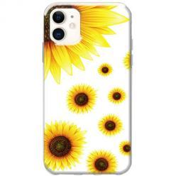 Etui na telefon Slim Case - Słoneczniki
