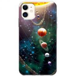 Etui na telefon Slim Case - Układ słoneczny