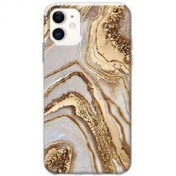 Etui na telefon Slim Case - Złoty Agat