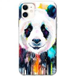 Etui na telefon Slim Case - Panda watercolor