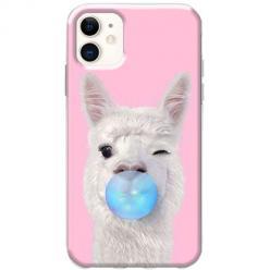 Etui na telefon Slim Case - Alpaka z gumą balonową