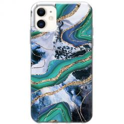 Etui na telefon Slim Case - Szlachetny marmur zialony