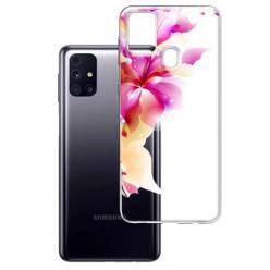 Etui na Samsung Galaxy M31s - Bajeczny kwiat.