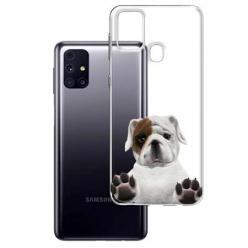 Etui na Samsung Galaxy M31s - Słodki szczeniaczek.