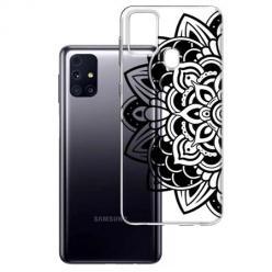 Etui na Samsung Galaxy M31s - Kwiatowa mandala.