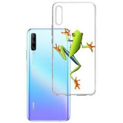 Etui na Huawei P Smart Pro 2019 - Zielona żabka.