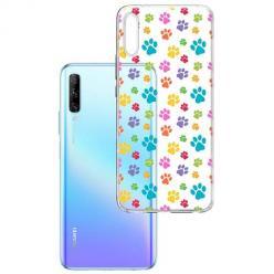 Etui na Huawei P Smart Pro 2019 - Kolorowe psie łapki.