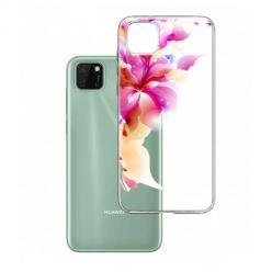 Etui na Huawei Y5P - Bajeczny kwiat.