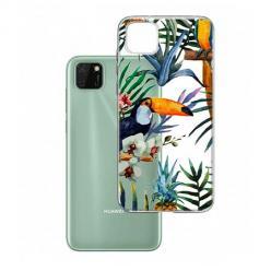 Etui na Huawei Y5P - Egzotyczne tukany.