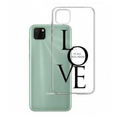 Etui na Huawei Y5P - All you need is LOVE.