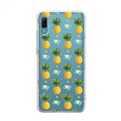 Etui na Huawei Y6 Pro 2019 - Ananasowe szaleństwo.
