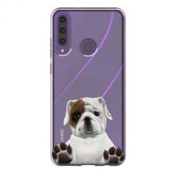Etui na Huawei Y6P - Słodki szczeniaczek.