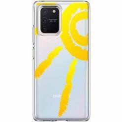 Etui na Samsung Galaxy S10 Lite - Wakacyjne słońce