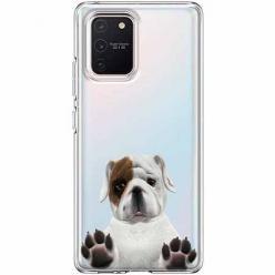 Etui na Samsung Galaxy S10 Lite - Słodki szczeniaczek.