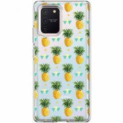 Etui na Samsung Galaxy S10 Lite - Ananasowe szaleństwo.