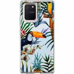 Etui na Samsung Galaxy S10 Lite - Egzotyczne tukany.