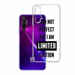 Etui na Huawei Nova 5T - I Am not perfect…