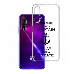 Etui na Huawei Nova 5T - Work like a Captain…