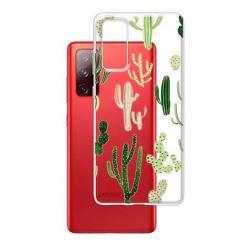 Etui na Samsung Galaxy S20 FE - Kaktusowy ogród.