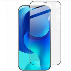 Apple iPhone 12 Pro hartowane szkło 5D Full Glue - Czarny.