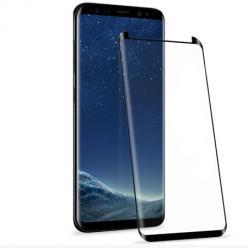 Samsung Galaxy S8 hartowane szkło na cały ekran 3D - Czarny.