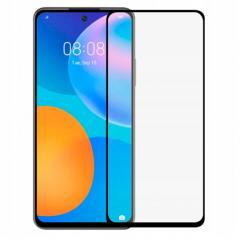 Huawei P Smart 2021 Hartowane Szkło 5D Full Glue Szybka - Czarny