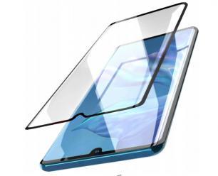 Samsung A41 Hartowane Szkło 5D Full Glue Szybka - Czarny