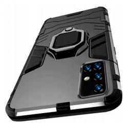 Etui na Samsung Galaxy M51 Pancerne Magnet Ring - Czarny.