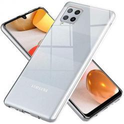 Etui na Samsung Galaxy A12 silikonowe Slim Crystal Case Przezroczyste